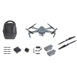 DJI Mavic Pro Fly More Combo with Quick Release Propellers - PKG #33772