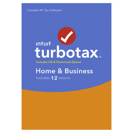 TurboTax Home and Business 2016 - 12 Returns - Bilingual