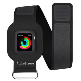Twelve South ActionSleeve Armband for Apple Watch 38 - Black - TS121701
