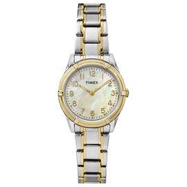 Timex Fashion Watch - Silver/Gold - TW2P76100GP