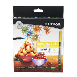 Lyra Aqua Brush Markers - 12 pack