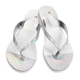 Chinese Laundry Stylish Thong Sandal - Silver