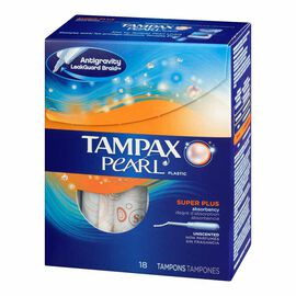 Tampax Pearl - Super Plus - 18's