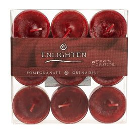 Enlighten Tealights - Pomegrante - 9 pack