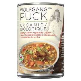 Wolfgang Puck's Organic Thick Hearty Vegetable Soup - 398ml