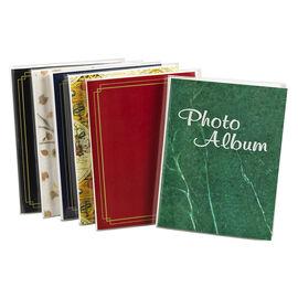 "Pioneer 4x6"" Flexible Plastic Cover 24-Pocket Photo Album"