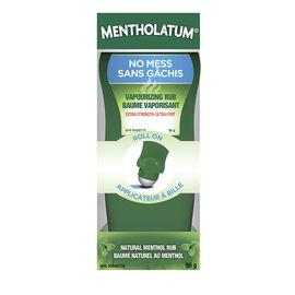 Mentholatum Vaporizing Rub Roll On - Extra Strength - 52ml