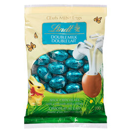 Lindt Lindor Mini Eggs -  Double Milk - 100g