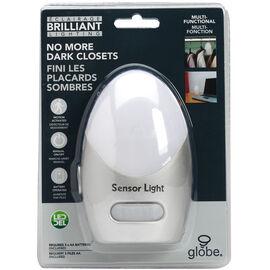 Globe LED Night Light with Hook