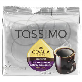 Tassimo Gevalia Kaffe Dark House Blend - 12 servings