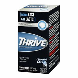 Thrive Nicotine Lozenges 2mg  - Mint - 108 lozenges