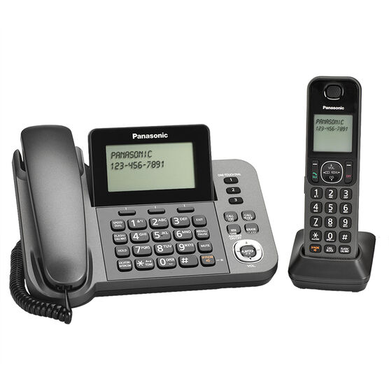 panasonic dect 6 0 cordless phone with answering machine