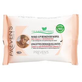 Preven's Paris Make-Up Remover Wipes - 15's