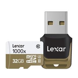 Lexar Professional 1000X Micro SDHC Card - 32GB - LSDMI32GCBNL1000R