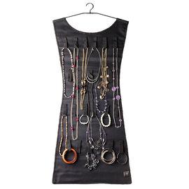 Umbra Black Dress Hanging Jewelry Holder