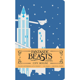 Fantastic Beasts Ruled Journal - City Skyline
