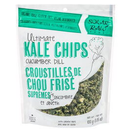 Solar Raw Kale Chips - Cucumber Dill - 100g