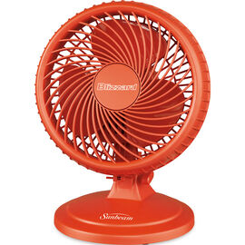 Sunbeam Blizzard 8-inch Table Fan - Tangerine - SAOF87BLZTT-CNB