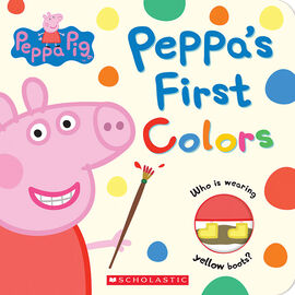 Peppa Pig: Peppa's First Colours
