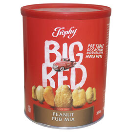 Trophy Big Red Peanuts - Pub Mix - 350g