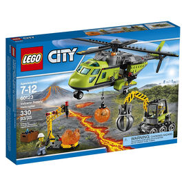Lego City Volcano Supply Helicopter - 60123