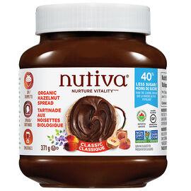 Nutiva Organic Hazelnut Spread - Classic - 369g