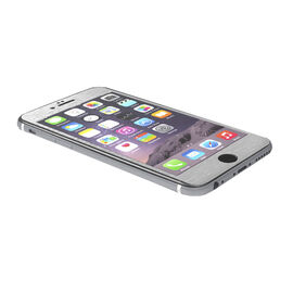 PureGear Tempered Glass Screen Protector for iPhone 6/6s - Silver - PG61303PG
