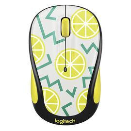 Logitech Party Collection M325 Wireless Mouse - Lemon - 910-004682