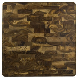 Architec GW End Grain Acacia Wood Cutting Board - 13 x 13inch