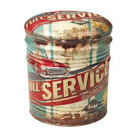 London Drugs Vintage Metal Storage Box