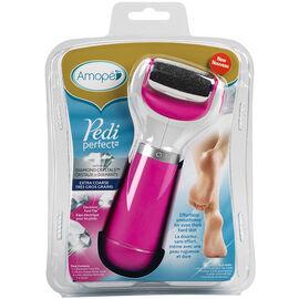 Amope Pedi Perfect Electronic Foot File - Extra Coarse - Pink