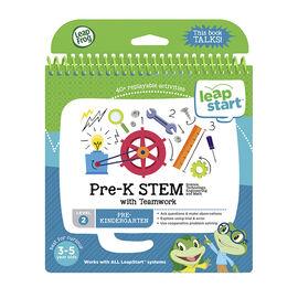 LeapStart Book - Pre-K STEM - Level 2