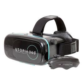 ReTrak Utopia 360 3D Virtual Reality Headset with Bluetooth Controller - Black - ETVRC