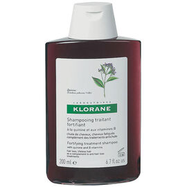 Klorane Fortifying Treatment Shampoo with Quinine & B Vitamins - 200ml