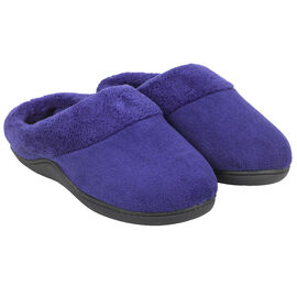 Isotoner MicroTerry Low Back Clog Slipper - 91482