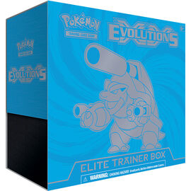 Pokémon - Evolutions - Elite Trainer Box