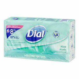 Dial Moisture Balance Antibacterial Deodorant Bar Soap - Aloe - 8 x 113g