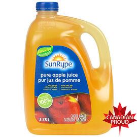 Sun-rype Pure Unsweetened Apple Juice - 3.78L