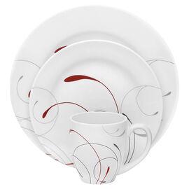 Corelle Imperial Splendor Round Dinnerware Set - Winter White - 16 piece