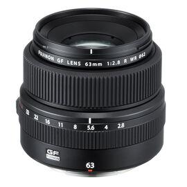 PRE-ORDER: Fuji GF 63mm F2.8 R WR Lens - Black - 600018291