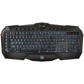 Tt eSports Challenger Prime Membrane Gaming Keyboard - Black - KB-CHM-MBBLUS-01