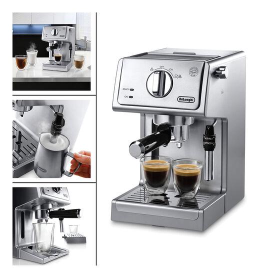 delonghi ec155 espresso maker how to use
