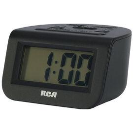 RCA Travel Alarm Clock - Black - RCD10