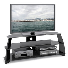CorLiving 54-inch TV Stand - Glossy Black - TAP509T
