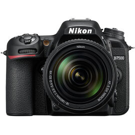 PRE-ORDER: Nikon D7500 with 18-140mm VR Lens - Black - 33903