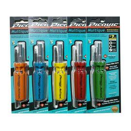 Picquic Multique Multi-Driver - Assorted - 7 piece