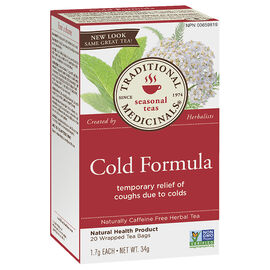 Traditional Medicinals Tea - Cold Formula - 20's