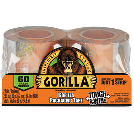 Gorilla Shipping Tape Refill - 2 pack