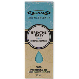 Relaxus Aromatherapy 100% Pure Essential Oils - Breath Easy Blend - 10ml