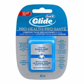 Oral-B Glide Comfort Plus Floss - Unflavoured - 40m